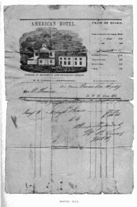 Hotel Bill