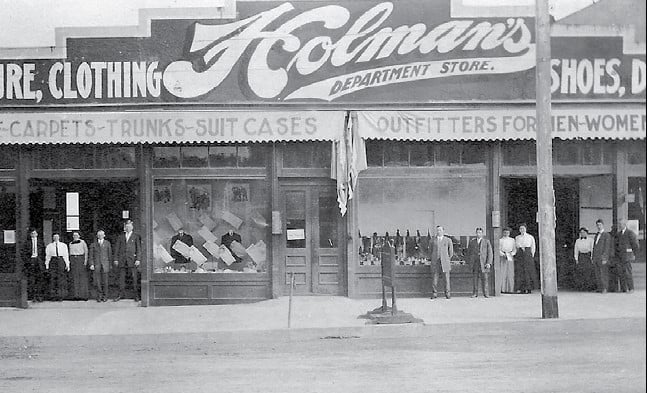 Holman's Department Store