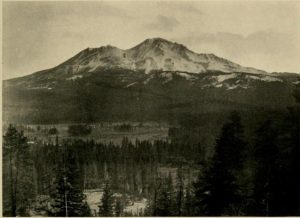 Mt Shasta, 14,442 Feet, From the Scott Mountains, Shasta Co., California